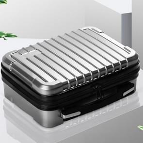Voor DJI Mavic Air 2 Schokbestendige draagbare ABS koffer opbergtas beschermdoos (zilver)