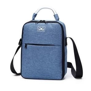 Voor DJI Mavic Air 2 Draagbare Oxford Cloth Schouder Opbergtas Protective Box (Blauw Zwart)