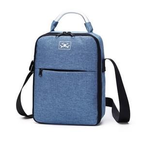Voor DJI Mavic Air 2 Draagbare Oxford Cloth Schouder Opbergtas Beschermdoos (Blauw Rood)
