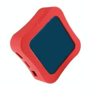 Voor Apple TV 4K 5e / 4e Anti-slip Shockproof Siliconen Afstandsbediening Beschermhoes (Rood)
