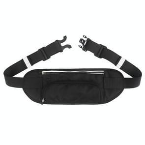 YIPINU YS17 Outdoor Mountaineering Sport Waterproof Mobile Phone Waist Bag Kettle Bag (Zwart)