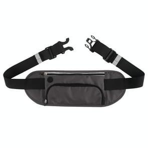 YIPINU YS17 Outdoor Mountaineering Sport Waterproof Mobile Phone Waist Bag Kettle Bag (Grijs)