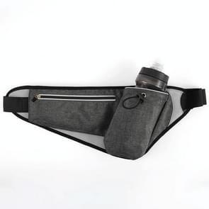 YIPINU YS20 Outdoor Sport Waterdicht dubbele laag mobiele telefoon opslag taille tas ketel zak (zwart)
