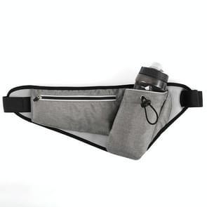 YIPINU YS20 Outdoor Sport Waterproof dubbele laag mobiele telefoon opslag taille tas ketel zak (grijs)