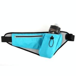 YIPINU YS20 Outdoor Sport Waterdicht dubbele laag mobiele telefoon opslag taille tas ketel zak (blauw)