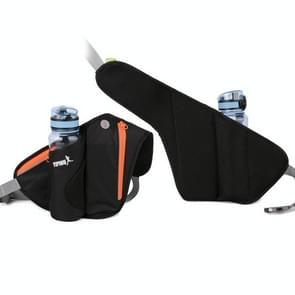 YIPINU YS9 Outdoor Cycling Mountaineering Sport Waterproof Mobile Phone Storage Waist Bag Kettle Bag (Zwart)