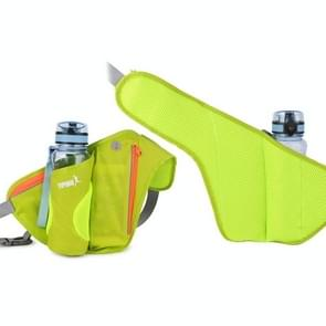 YIPINU YS9 Outdoor Cycling Mountaineering Sport Waterproof Mobile Phone Storage Waist Bag Kettle Bag (Groen)
