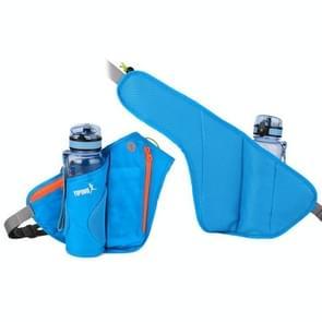 YIPINU YS9 Outdoor Cycling Mountaineering Sport Waterproof Mobile Phone Storage Waist Bag Kettle Bag (Blauw)
