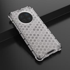 Voor Huawei Mate 40 Schokbestendige honingraat PC + TPU beschermhoes(wit)