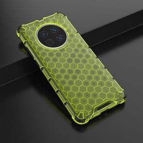 Voor Huawei Mate 40 Schokbestendige honingraat PC + TPU beschermhoes(groen)