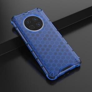 Voor Huawei Mate 40 Schokbestendige honingraat PC + TPU beschermhoes(blauw)