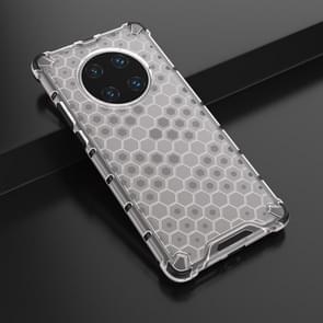 Voor Huawei Mate 40 Pro Schokbestendige honingraat PC + TPU beschermhoes (wit)