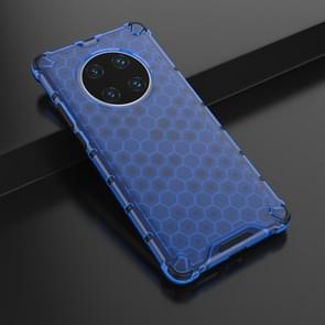 Voor Huawei Mate 40 Pro Schokbestendige honingraat PC + TPU beschermhoes(blauw)