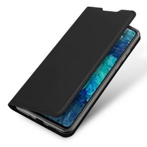 Voor Samsung Galaxy S20 FE DUX DUCIS Skin Pro Series Horizontale Flip PU + TPU Lederen case  met Holder & Card Slots(Zwart)