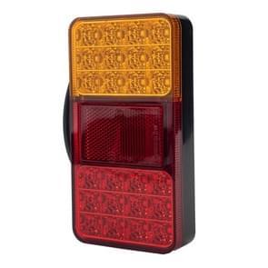 2 PCS Trailer / Truck A-type Long Strip 24LEDs Achterlicht met kentekenverlichting set