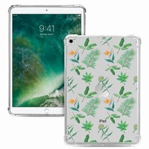 Voor iPad Pro 10 5 inch / iPad Air (2019) Painted Dropproof TPU Beschermhoes (Little Green Plant)