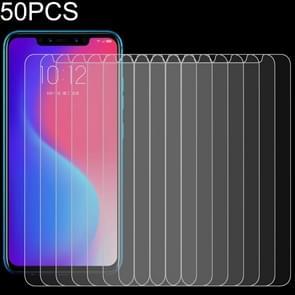 Voor Lenovo S5 Pro 50 PCS 0 26mm 9H 2.5D Gehard glas film