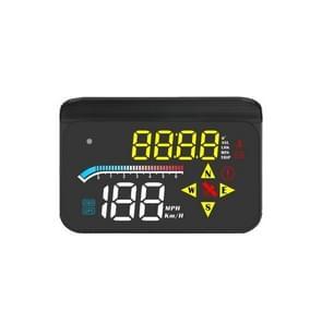 M17 Car HUD Head-up Display GPS Speed Meter Car OBD2 Diagnostic Tool