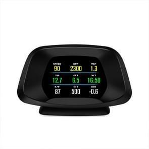 P19 Car HUD Head-up Display GPS Speed Meter Car OBD2 Fault Elimination Code