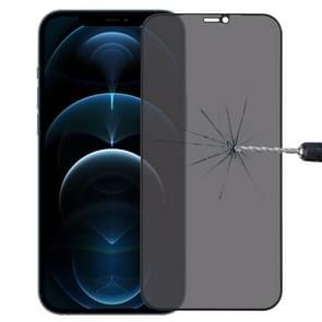 Anti-glurende plasma olie gecoate hoge aluminium slijtvaste tempered glass film voor iPhone 12 Pro Max