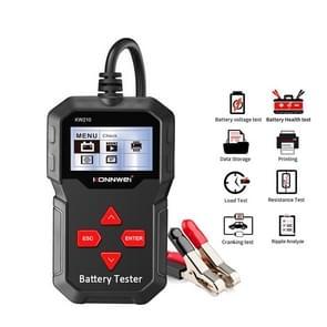 KONNWEI KW210 Auto Batterij Test Batterijcapaciteit Weerstand Batterij Detector