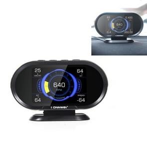 KONNWEI KW206 2 in 1 OBDII / EOBD12V Autofoutscanner + 3 5 inch LCD-monitor
