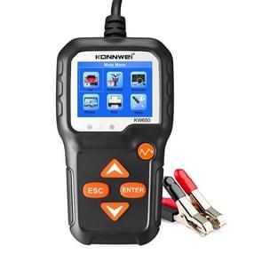 KONNWEI KW650 6V- 12V Motor Battery Lawn Mower Detector met 2 4 inch Color Display & Waveform Graph