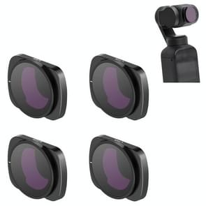 STARTRC 1108493 4 In 1 ND8PL + ND16PL + ND32PL + ND64PL Verstelbare lensfilterset voor DJI OSMO Pocket 2