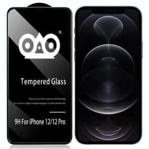 Shockproof Anti-breaking Edge Airbag Tempered Glass Film For iPhone 12 / 12 Pro
