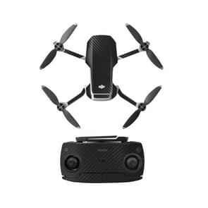 Sunnylife MM-TZ439 Waterproof PVC Drone Body + Arm + Afstandsbediening Decoratieve Beschermende Stickers Set voor DJI Mavic Mini (Carbon Texture Black)