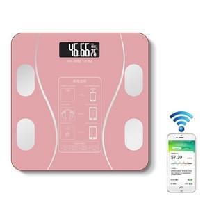 Huishouden Smart Body Fat Elektronische Weegschaal  Batterij Versie (Roze)