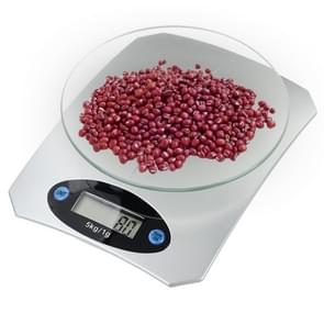 QE-5 5000g x 1g Digital Electronic Kitchen Cooking Gram Scale, Measuring Fruit / Food Weight
