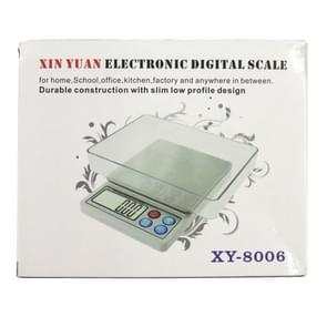 XY-8006 600g x 0.01g 2.2 inch LCD Professional Portable Digital Gold Jewellery Scale