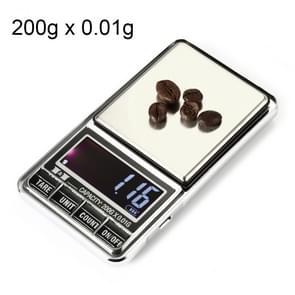 DS-29 200g x 0.01 g hoge nauwkeurigheid digitale elektronische weegschaal-balans apparaat met 2 0 inch LCD-scherm