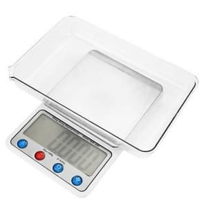 MH-885 600g x 0.01g High Accuracy Digital Electronic Portable Kitchen Scale Balance Device with 4.5 inch LCD Screen