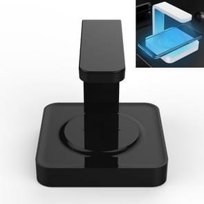 Multifunctionele UV-licht desinfectie sterilisatie draadloze oplader voor telefoon (zwart)