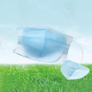 100 PCS Disposable Face Mask Filter Pad 3 Lagen stofdicht ademend filtermasker vervangend pad