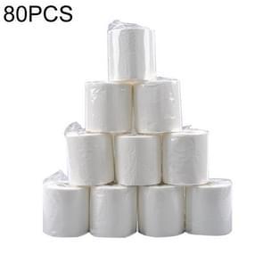 80 Rolls 100g Hotel Sanitair Commercieel Toiletpapier Kernrolpapier