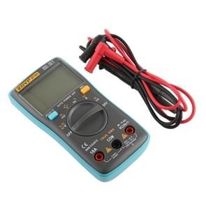 ZOYI ZT101 600V CAT III / 1000V CAT II 6000 Counts Portable Digital Multimeter AC / DC Current Voltage Tester Meter with Back-light LCD Screen & Holder