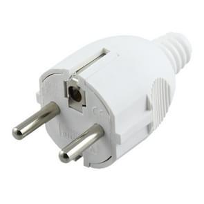 Side Wiring Tripolar Power Plug, EU Plug