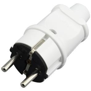 16A Detachable Wiring Power Plug, EU Plug