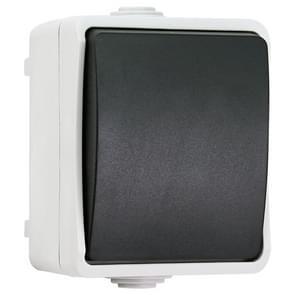 IP44 Waterproof Kitchen Bathroom Single Control Switch, EU Plug