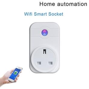 SWA1 10A Home Automation Wireless Smart WiFi Socket, Support Smartphone Remote Control & Timing Switch & Alexa & Google Home