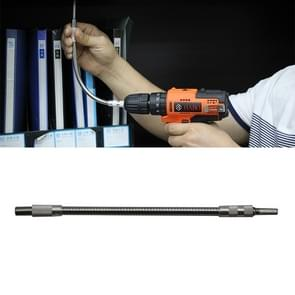 Metal Rechargeable Drill Electric Screwdriver Dedicated Flexible Shafting Torque Drill Rods, Length: 24.5cm
