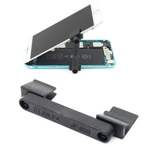 2 stuks JIAFA JF-856 universele 360 graden rotatie GSM scherm reparatie houders (zwart)