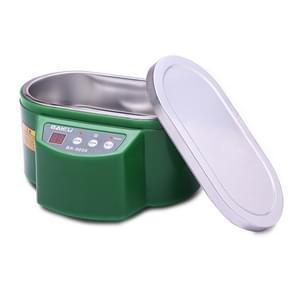BAKU BK-9050 30W / 50W Adjustable 0.6L LCD Display Ultrasonic Cleaner, AC 220V(Green)