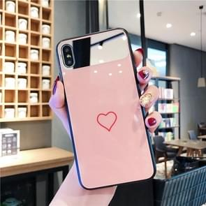 Glass Protective Case For iPhone 8 & 7(Pink)