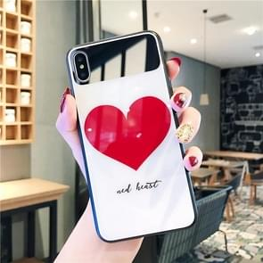 Glass Protective Case for iPhone 8 & 7(Big Heart)