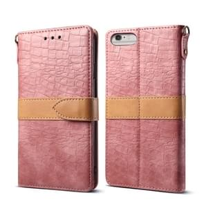 Leather Protective Case For iPhone 6 Plus & 6s Plus(Pink)