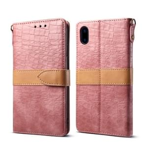 Leather Protective Case For iPhone X & XS(Pink)